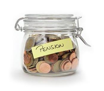 Pensions Money Jar